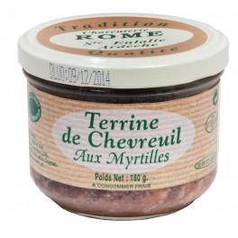 TERRINE DE CHEVREUIL AUX MYRTILLES