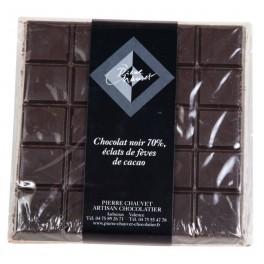 CHOCOLAT NOIR ECLATS DE FEVE