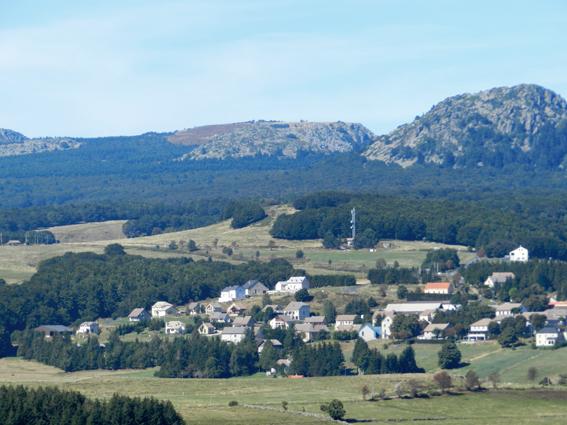 village de sainte-eulalie montagne ardéchoise