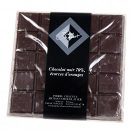 CHOCOLAT NOIR ECORCES D'ORANGE